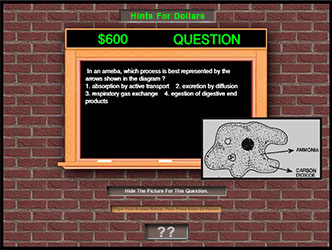Science Test Review Game